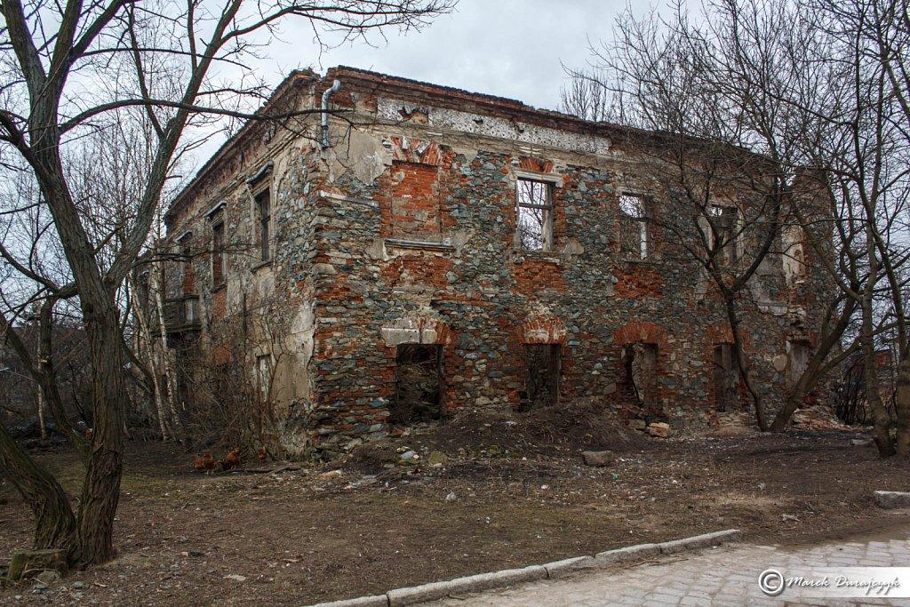 Dwór w Dankowicach 1730-1740
