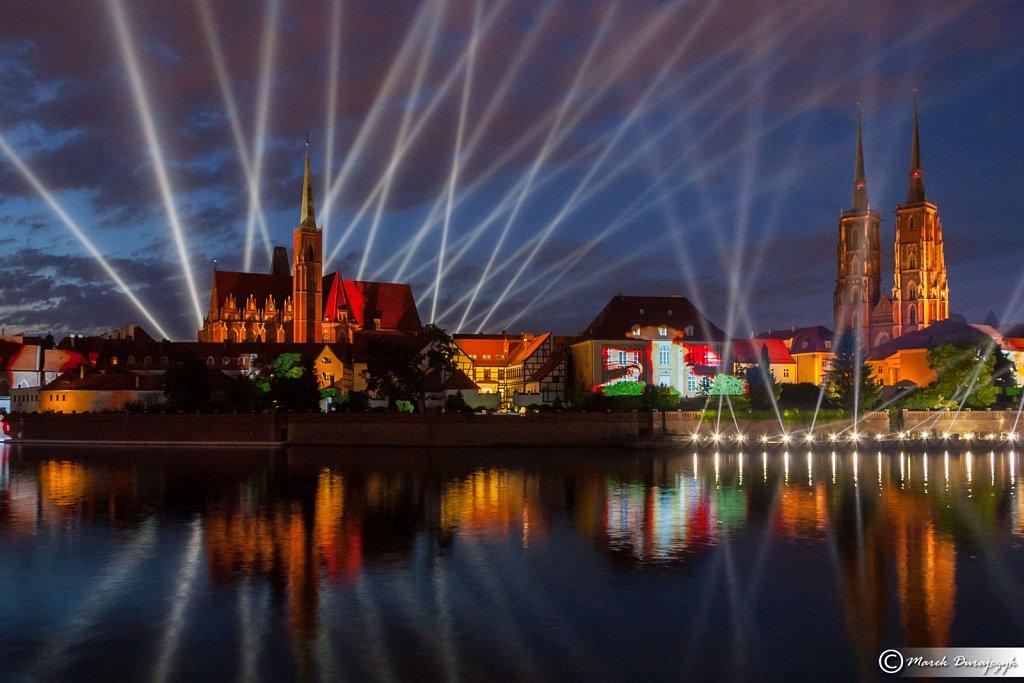 Widowisko FLOW w ramach Europejska Stolica Kultury Wrocław 2016